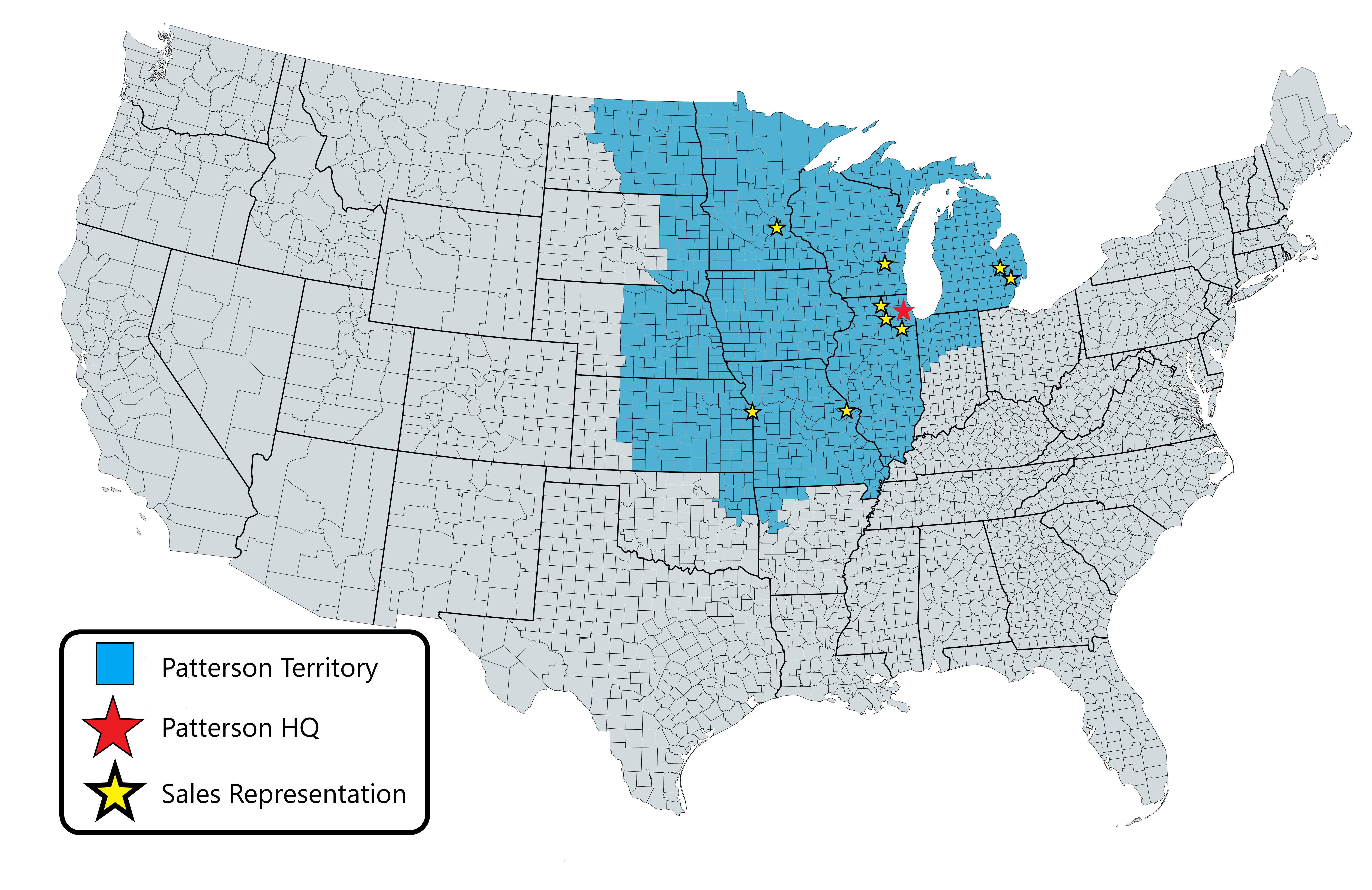 PCI serves 11 Midwestern states.